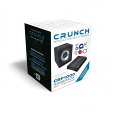 Crunch CBP1000 Bass-Pack 600 watts RMS